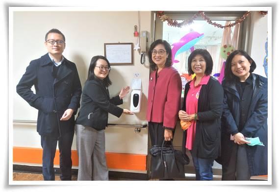 伊甸基金會感謝台灣瀚亞投資不僅捐款支持服務,還捐贈多項防疫器材,幫助提升服務效益即照顧壓力。