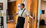身心皆無礙的居住生活同是自小患有小兒麻痺的賴張亮建築師與太太,他們堅持在住家設計上,「身體與心理」的無障礙同等重要。