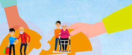 長照有愛 青年注入關懷處在高齡社會,長照人力需才若渴,一群青年世代在服替代役期間毅然決然投入照顧服務,份外令人動容。在相處過程中,對身障者有了新的認識,而能有更多的理解和包容,讓社會更加的和諧。