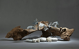 「退休的生活」碰上「退役的鋁罐」 回收物變身藝術品