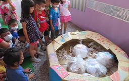 幼兒園兩個月不丟垃圾 特色課程教孩子環保